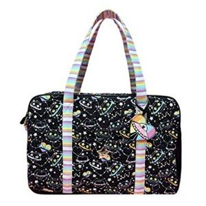 Betsey Johnson LBCruzin Galactic Cat Weekender Bag